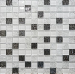 Mosaic Glass White DW7MGW00 Декор 300х300